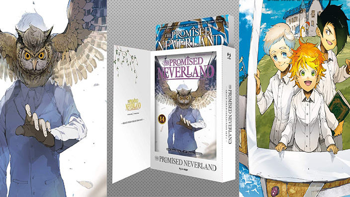 The Promised Neverland, J-Pop annuncia il Grace Field Collection Set
