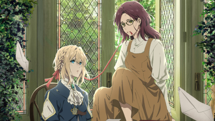 Violet Evergarden: il film side story su Netflix ad aprile
