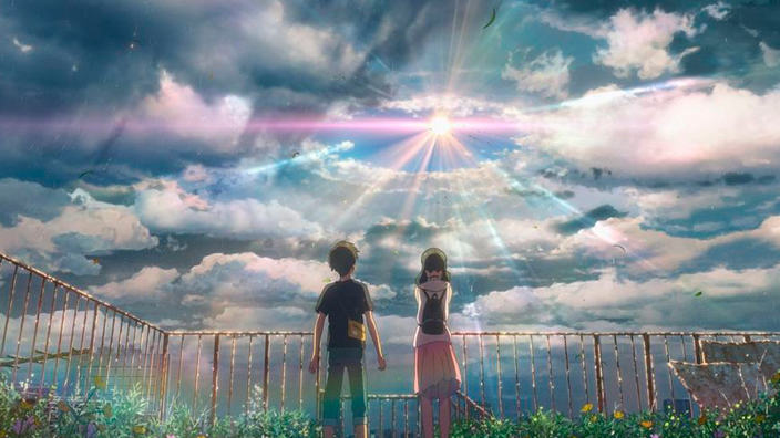 Makoto Shinkai presta la sua voce per Hina e Hodaka di Weathering With You