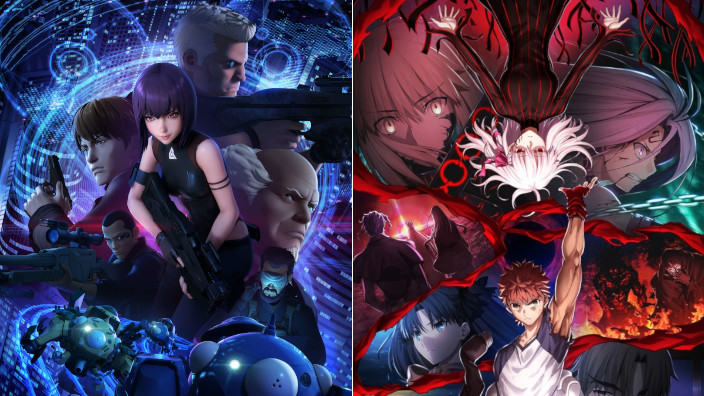 Trailer per Ghost in the Shell: SAC_2045, No Guns Life e Fate Heaven's Feel III