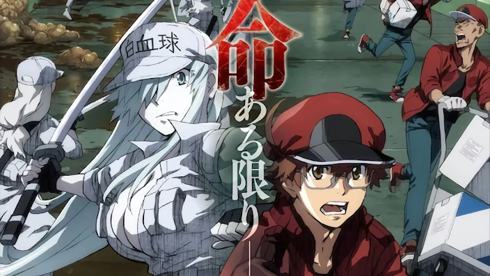 Cells at Work! Code Black, Kabukicho e Tōtotsu ni Egypt Kami: nuovi annunci