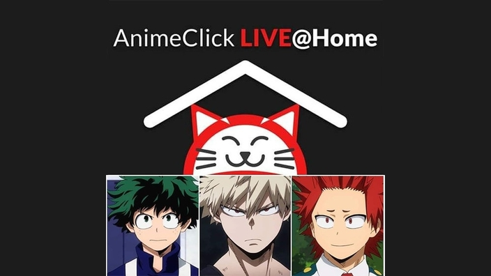 Animeclick Live@Home: speciale My Hero Academia ore 18:00