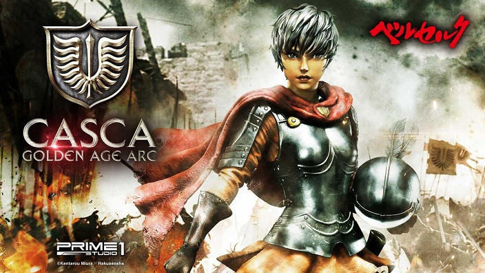 Berserk: Casca Golden Age Arc in pre-ordine per Prime 1 Studio
