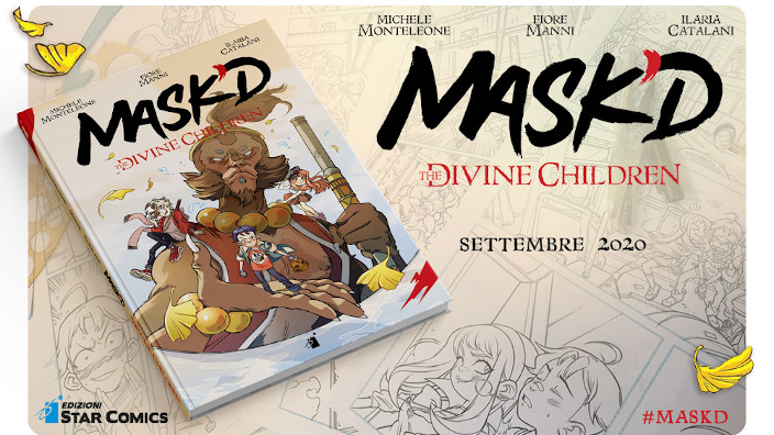 Mask'D - The Divine Children: a settembre la nuova proposta Made in Italy di Star Comics