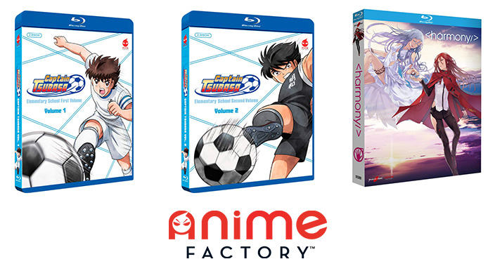Captain Tsubasa e Harmony: anteprime home video di Anime Factory