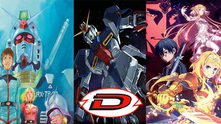 Mobile Suit Gundam Movie Trilogy e SAO Alicization in arrivo per Dynit