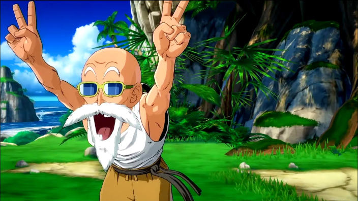 Dragon Ball FighterZ aggiunge il Maestro Muten