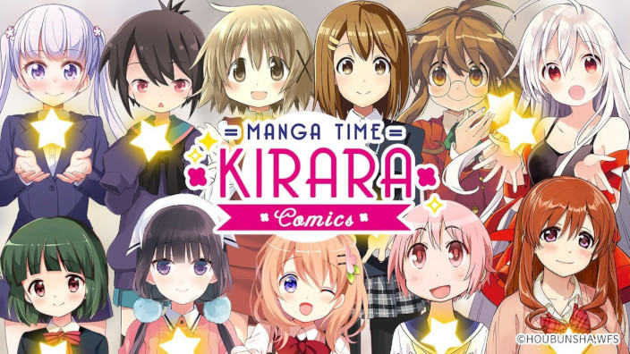 Manga Time Kirara Comics è disponibile gratis ora su Facebook in inglese
