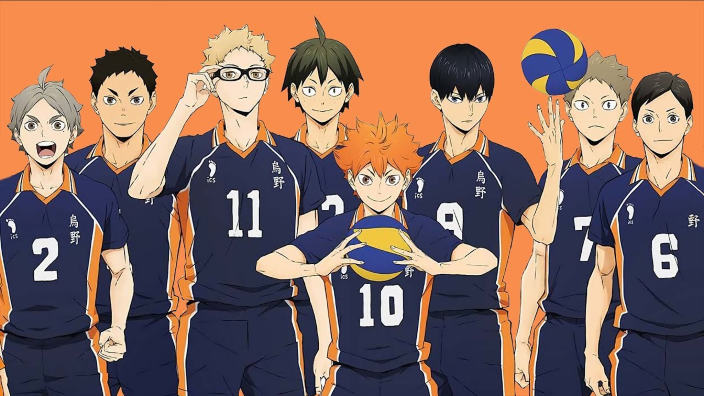 Haikyu!!, Noblesse, I'm Standing on a Million Lives in trailer