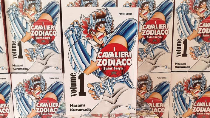 Saint Seiya: torna la Perfect Edition di Star Comics con i primi 10 volumi