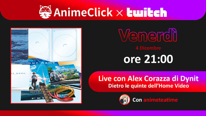 Dietro le quinte dell'Home Video con Alex Corazza (Dynit)