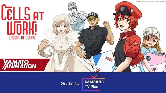 Yamato Animation sbarca su Samsung TV Plus