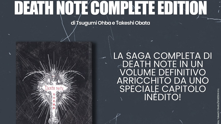 Death Note: Planet annuncia la Complete Edition