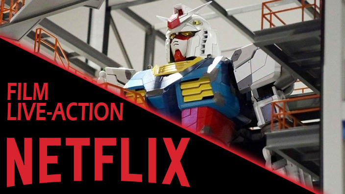Gundam: film live-action in arrivo per Netflix
