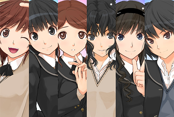 Amagami SS - Heroines