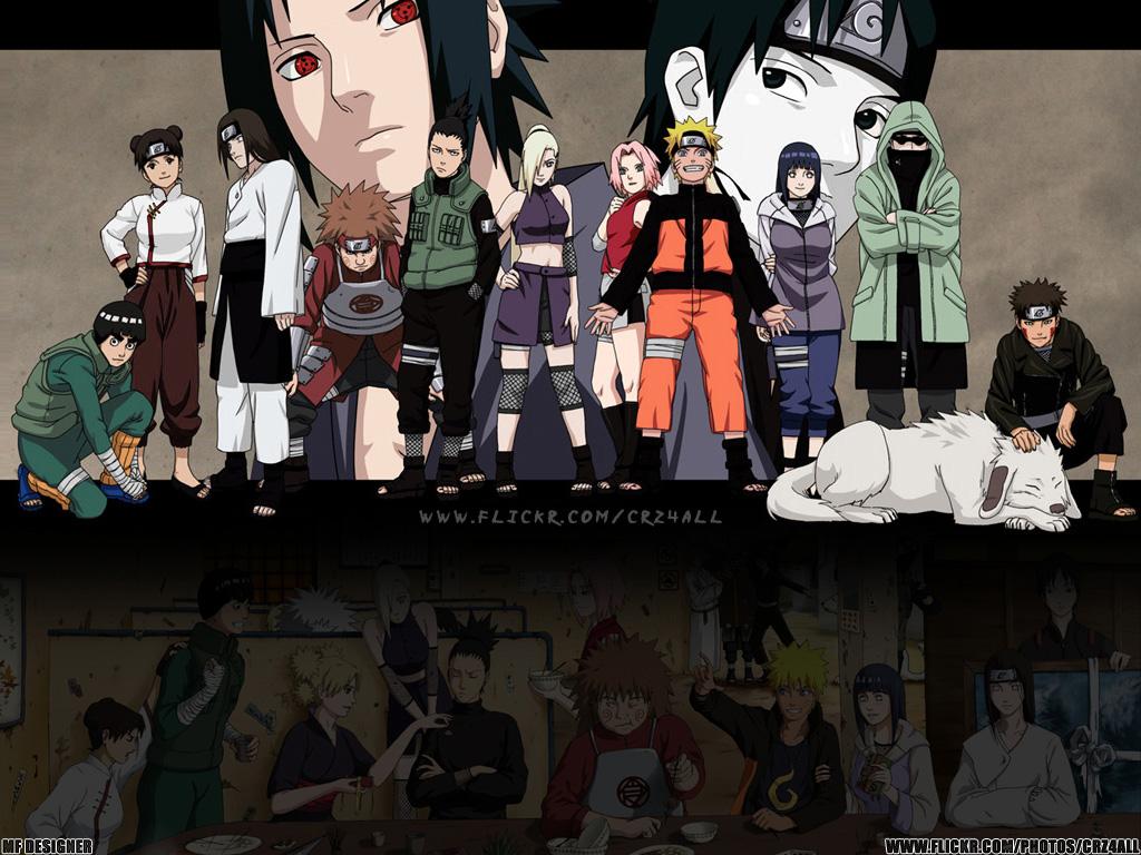 Naruto Shippuuden - wallpaper 1024x768 - 01.
