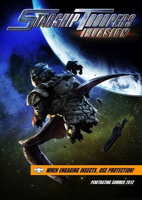 Starship Troopers: Invasion - locandina taeser