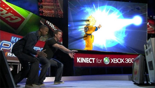 dragon ball kinect