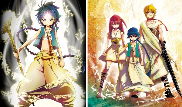 Magi - anime visual key
