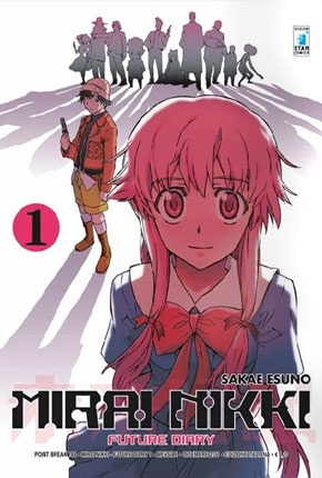 MIRAI NIKKI - FUTURE DIARY cover 1 Star Comics