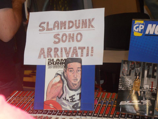 Slam Dunk al Romics 2012