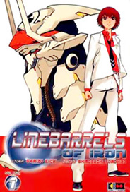 LineBarrels of Iron 1 cover Flashbook intervista