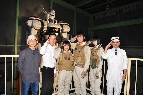 Patlabor: The Next Generation il Cast