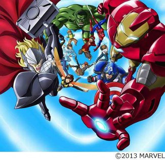 Marvel Disk Wars Avengers