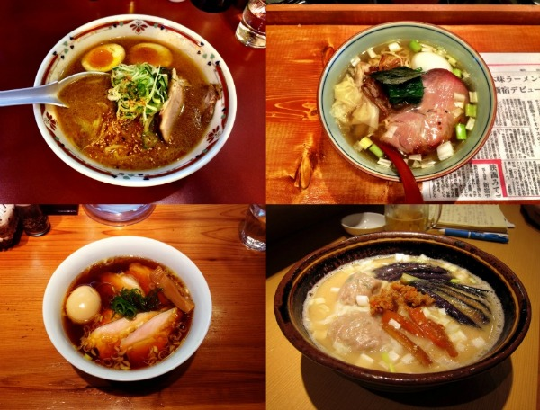 Ramen quartetto
