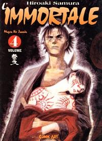 Top 10 Manga - L'immortale