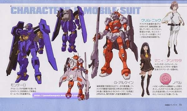 Gundam G Reconguista: Chara e Mobile Suit