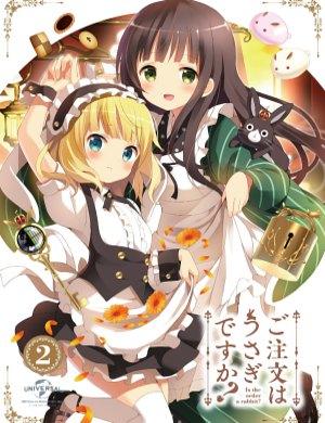 Blu-ray covers - Gochuumon wa usagi desuka