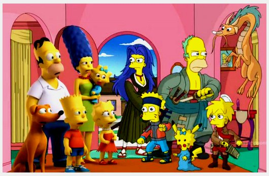 The Simpsons and anime Now