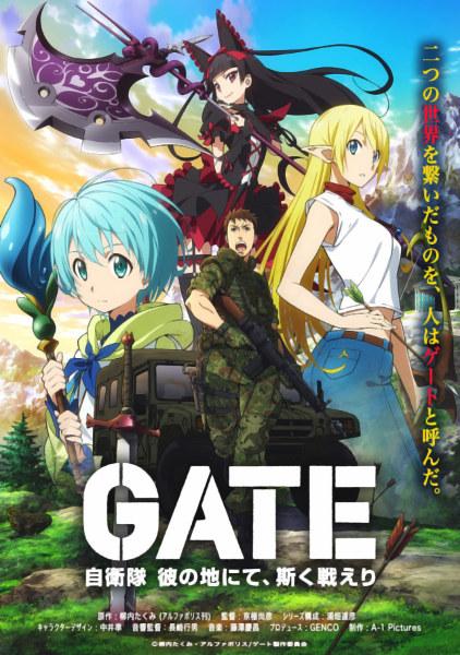 Gate: Jiei-tai Ka no Chi ni te, Kaku Tatakaeri