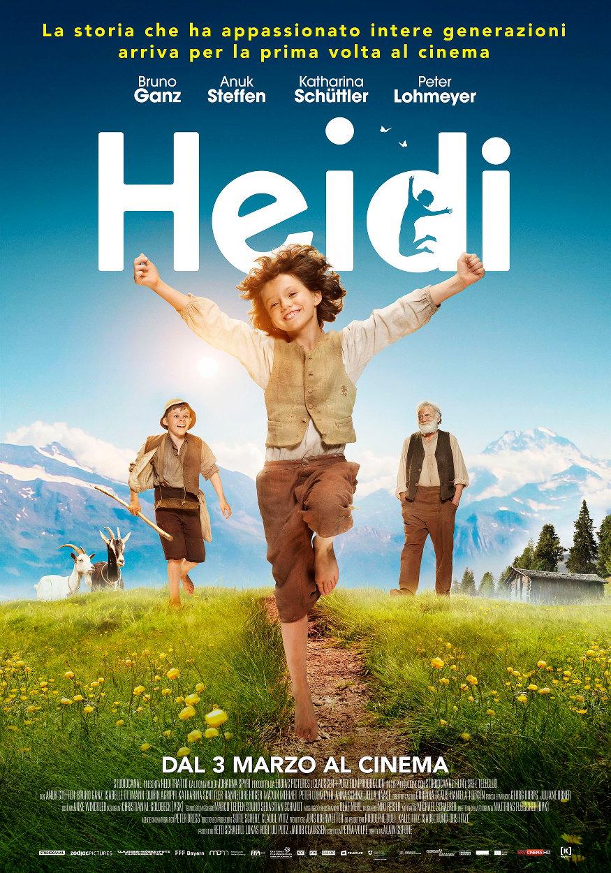 HEIDI Un film di Alain Gsponer