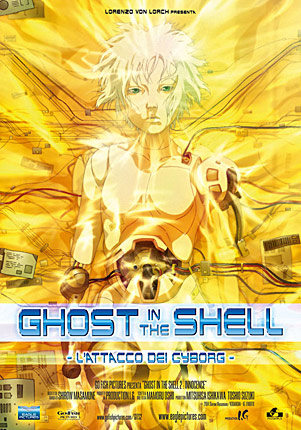 Ghost in the Shell - Innocence cover ita
